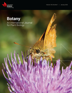 Image of Botany journal cover